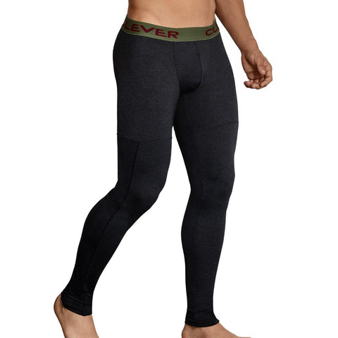 Clever Moda Skin Leggings Gordiano Black Men's Sportswear