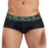 Clever Moda Piping Brief Brasilea Black Men's Underwear