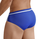 Clever Moda Swim Brief Pool Party Blue Men's Swimwear