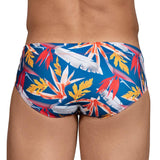 Clever Moda Swim Brief Vara Red Men's Swimwear