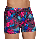 Clever Moda Swim Short Folk Grape Men's Swimwear