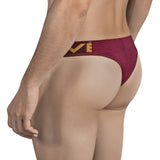 Clever Moda Thong Stingray Grape Men's Underwear