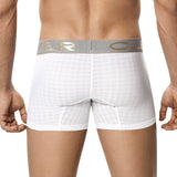 Clever Moda Boxer Spinel White Men's Underwear