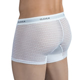 Clever Moda Boxer Magnificent White Men's Underwear