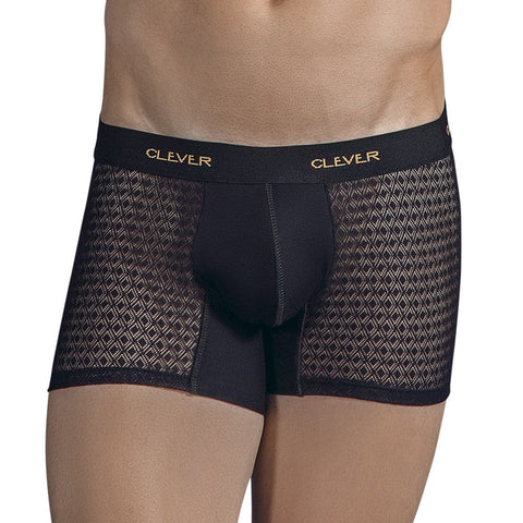 Clever Moda Boxer Magnificent Black Men's Underwear