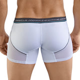 Clever Moda Piping Boxer Nectar White Men's Underwear