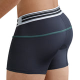 Clever Moda Piping Boxer Czech Black Men's Underwear