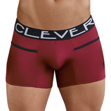 Clever Moda Piping Boxer Czech Grape Men's Underwear