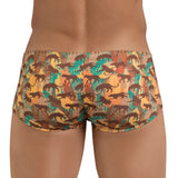 Clever Moda Latin Boxer Echo Brown Men's Underwear