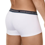 Clever Moda Latin Boxer Senses White Men's Underwear