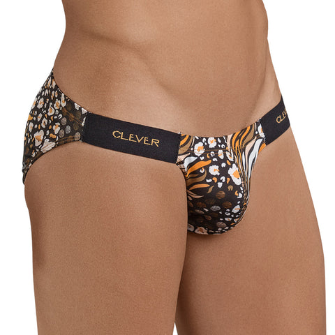 Clever Moda Brief Pepper Black Men's Underwear