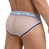 Clever Moda Piping Brief Blunder White Men's Underwear