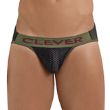 Clever Moda Piping Brief Blunder Black Men's Underwear