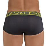 Clever Moda Brief Handsome Black Men's Underwear