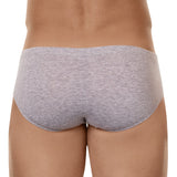 Clever Moda Latin Brief Beats Light Grey Men's Underwear