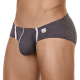 Clever Moda Latin Brief Beats Dark Grey Men's Underwear