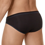 Clever Moda Brief Expression Black Men's Underwear