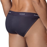 Clever Moda Tanga Brief New Wave Black Men's Underwear