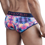 Clever Moda Piping Brief Arawack Grape Men's Underwear