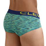 Clever Moda Classic Brief Briton Green Men's Underwear