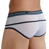 Clever Moda Piping Brief Asian White Men's Underwear