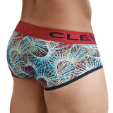 Clever Moda Piping Brief Azalea Grape Men's Underwear