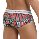 Clever Moda Classic Brief Refined Red Men's Underwear