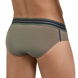 Clever Moda Latin Brief Wonderful Green Men's Underwear
