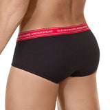 Clever Moda Piping Brief Senses Black Men's Underwear