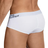 Clever Moda Classic Brief Neron White Men's Underwear