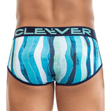 Clever Moda Piping Brief Richness Green Men's Underwear