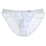 Clever Moda Latin Brief Style White Men's Underwear