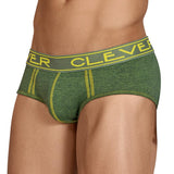 Clever Moda Piping Brief Sinto Green Men's Underwear