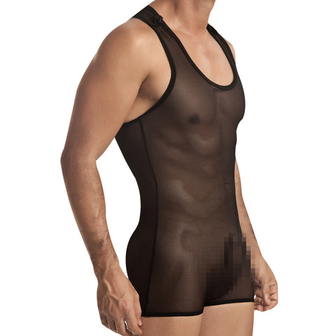 Pikante Mesh Body Silom Black Men's Underwear