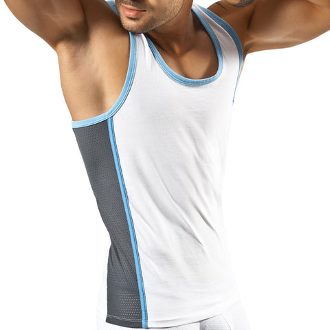 Clever Moda Tank Top Clever Sporty White