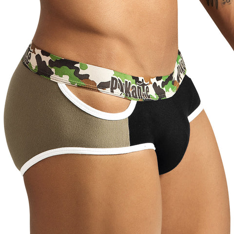 Pikante Brief Army Green Men's Underwear