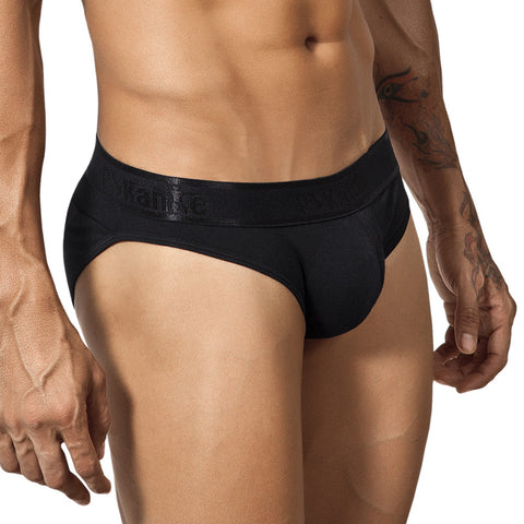Pikante Mesh Brief V Black Men's Underwear