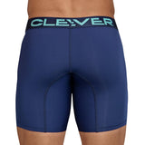 Clever Moda Long Boxer Kumpanias Dark Blue Men's Underwear