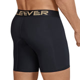 Clever Moda Long Boxer Kumpanias Black Men's Underwear