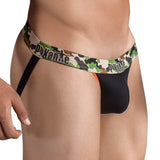 Pikante Jockstrap Army Black Men's Underwear