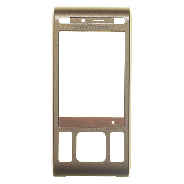 Sony Ericsson C905 Bronze Cover Flip Front Assy Copper, Cover - Itstek
