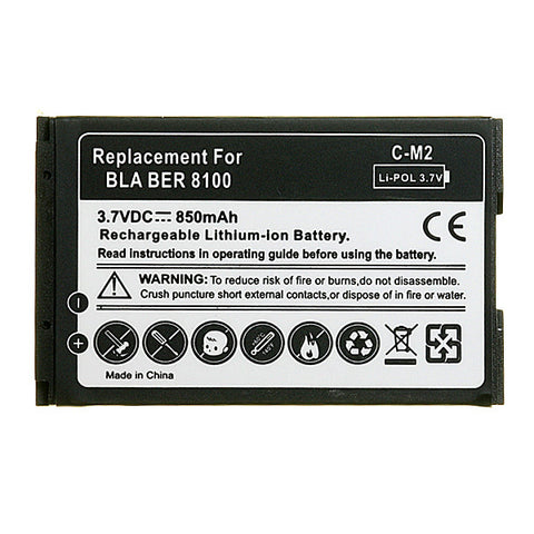 Blackberry 8100/8110/8120/8130 Pearl Replacement Battery, Battery - Itstek