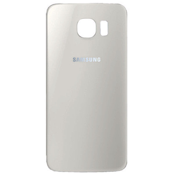 Samsung G920F Galaxy S6 Battery Cover White, Battery Cover - Itstek