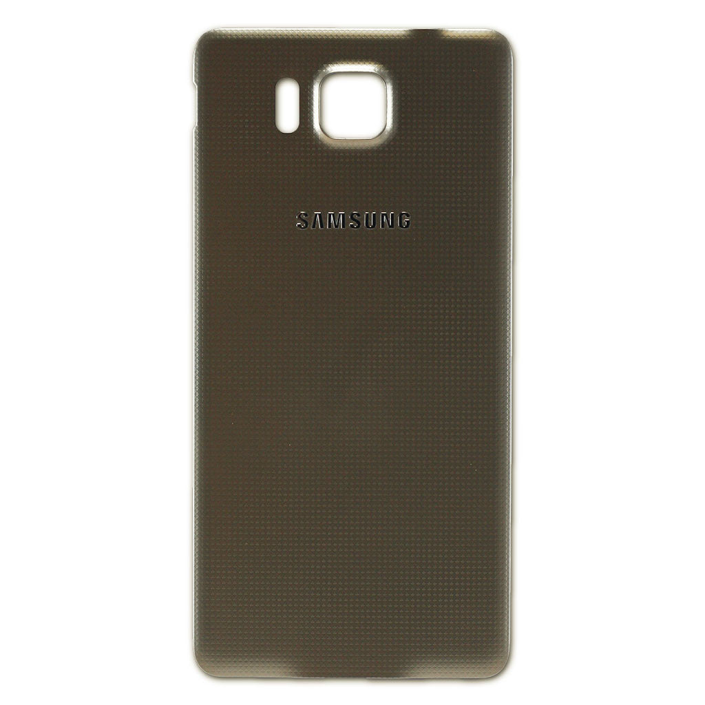 Samsung G850F Alpha Battery Cover Gold, Battery Cover - Itstek