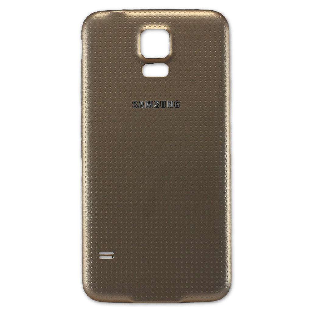 Samsung G900F Galaxy S5 Battery Cover Gold, Battery Cover - Itstek