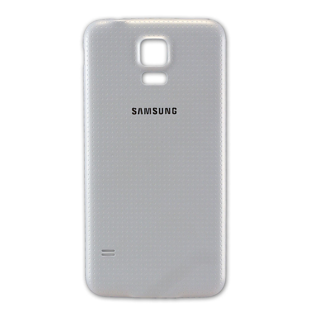 Samsung G900F Galaxy S5 Battery Cover White, Battery Cover - Itstek