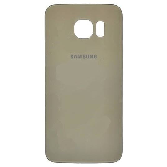 Samsung G925 Galaxy S6 EDGE Battery Cover - GOLD, Battery Cover - Itstek