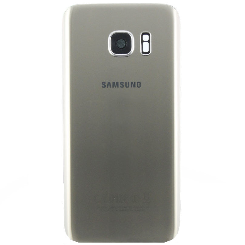Samsung G930F Galaxy S7 Battery Cover Gold