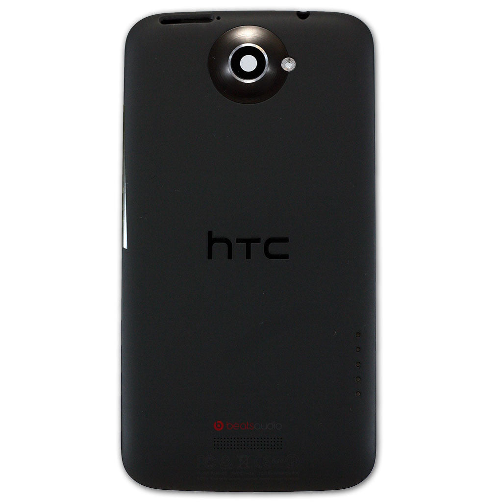 HTC One X Battery / Back Cover Black, Battery Cover - Itstek