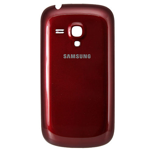 Samsung i8190 Galaxy S3 Mini Battery Cover Red, Battery Cover - Itstek